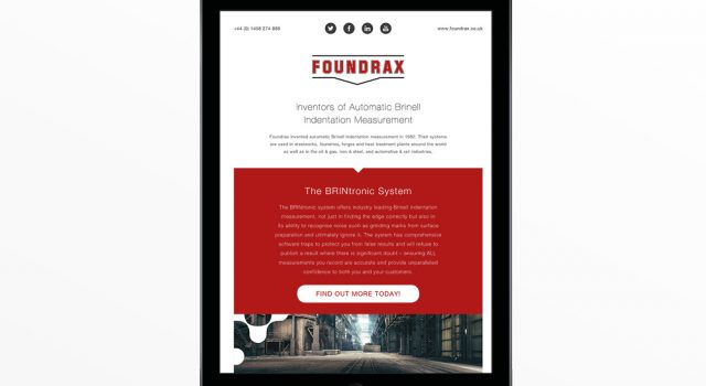 Foundrax Email Campaign